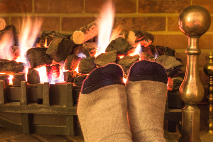 fireplace feet